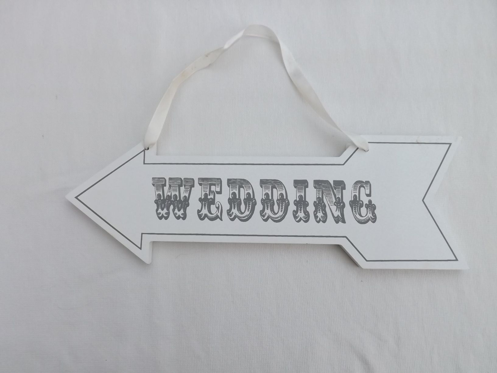 This way to your wedding