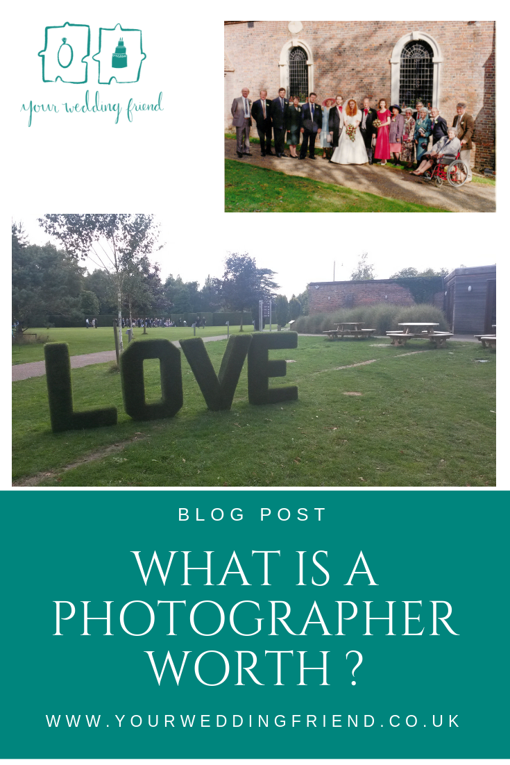 What is a wedding photographer worth?