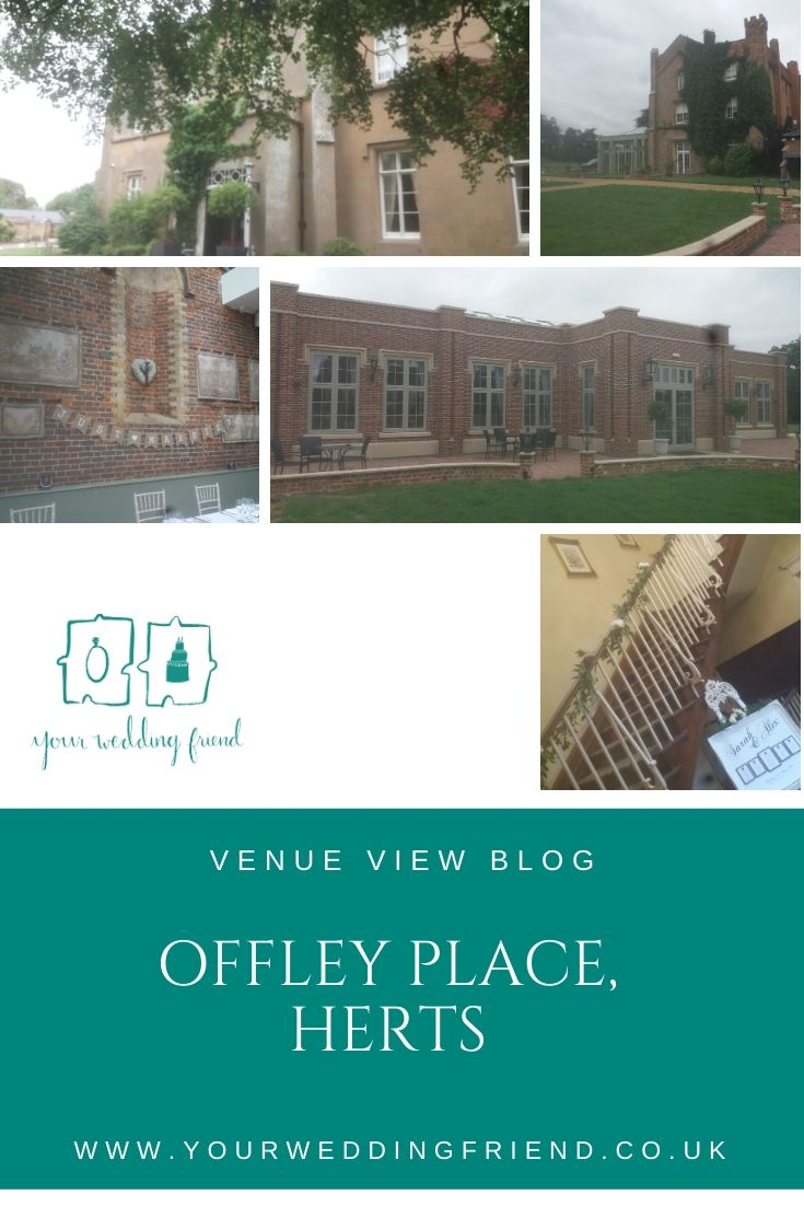 Pictures of the venue inside and out, including the front of the building and grounds, plus the conservatory and the main staircase in the hotel