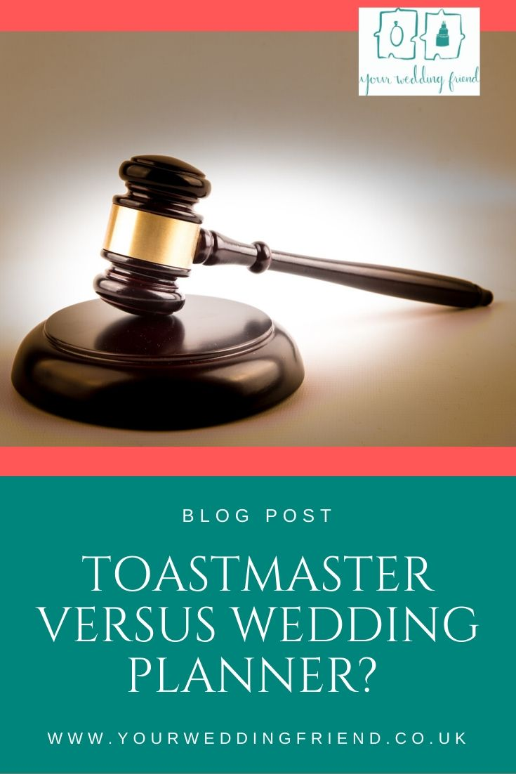The picture is of a judges gavel, which is also used by a toastmaster to help get peoples attention at weddings and events